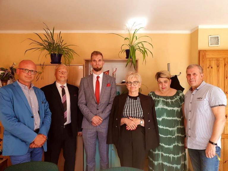 Wsparcie OHP - spotkanie z p. Iwoną Michałek
