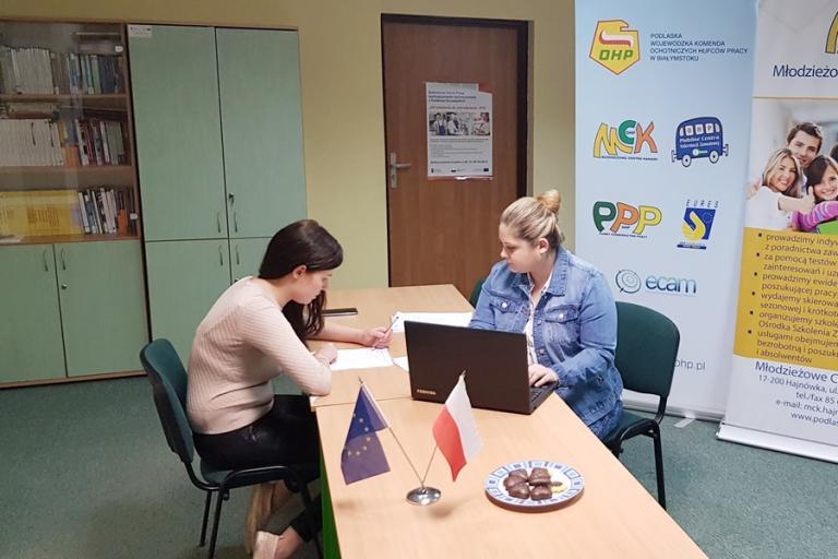 Hajnówka: Spotkania indywidualne z doradcą zawodowym w ramach projektu