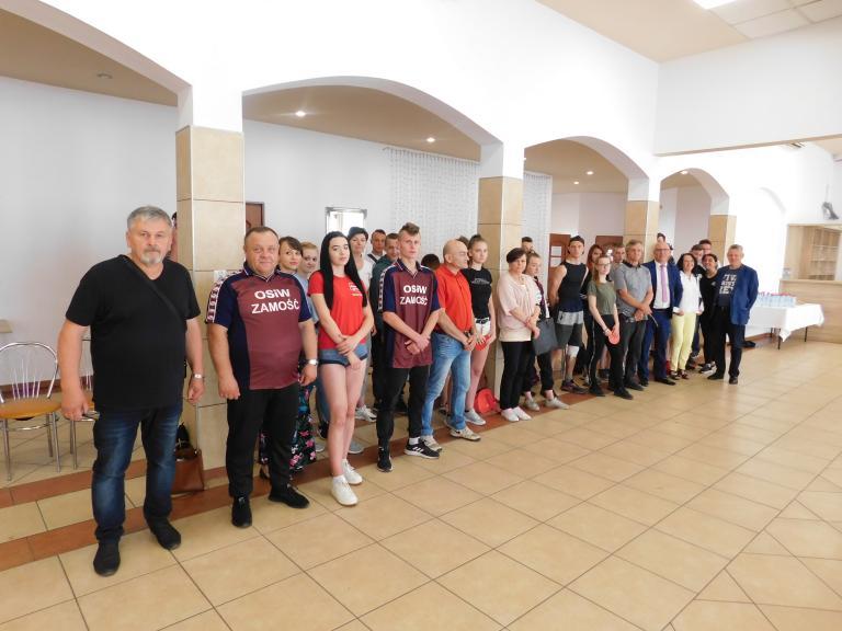 XXII Wojewódzki Turniej Tenisa Stołowego Młodzieży OHP w Zamościu