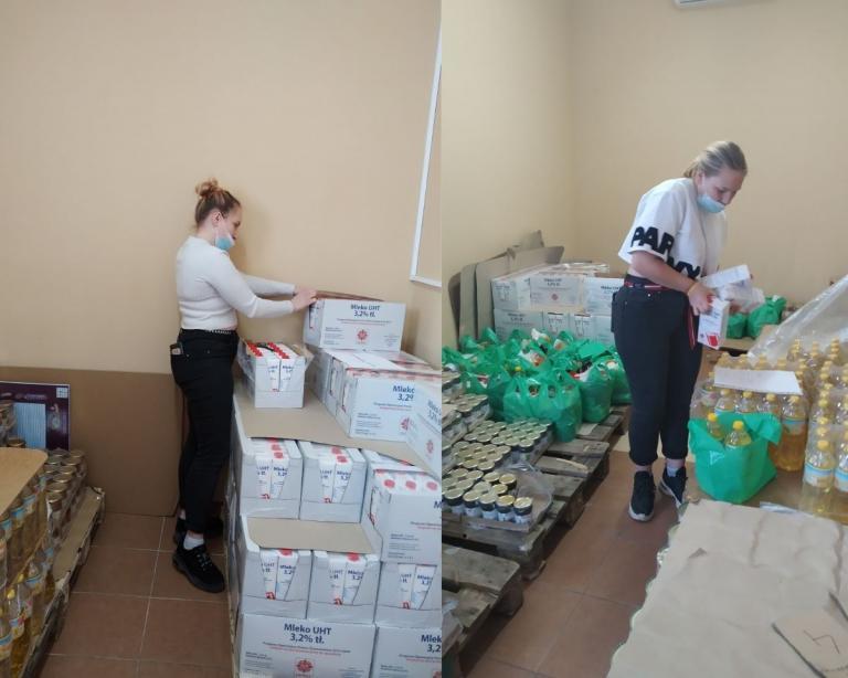 Pomagamy nadal, czyli akcja w dąbrowskim MOPSiWR
