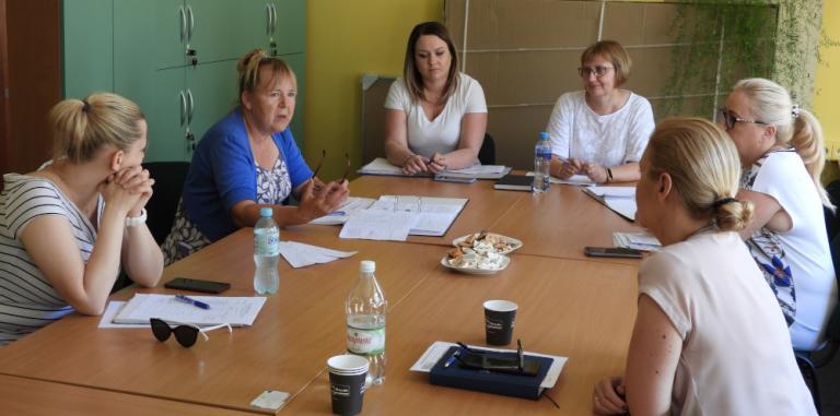 Suwałki: Posiedzenie zespołu wsparcia uczestników