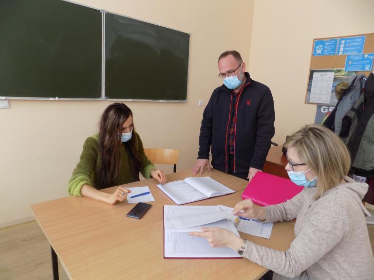Spotkanie zespołu wsparcia uczestników OHP w Tomaszowie Lubelskim