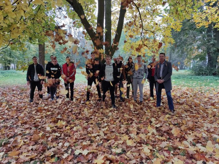 W poszukiwaniu oznak jesieni w OSiW w Niechanowie