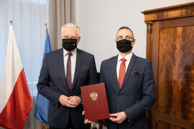 Premier Jarosław Gowin powołał nowego komendanta głównego OHP