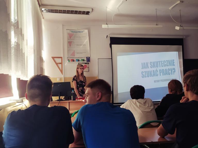 Puławy: Zajęcia z doradztwa zawodowego w Zespole Szkół Technicznych