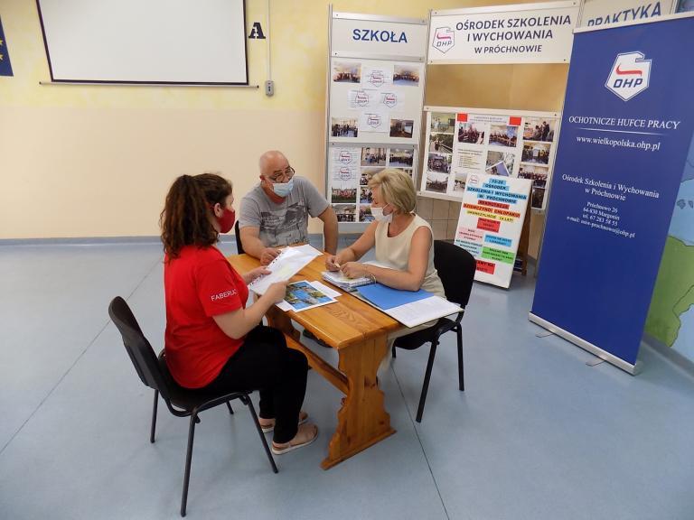 Kandydaci na uczestników OHP w OSiW w Próchnowie