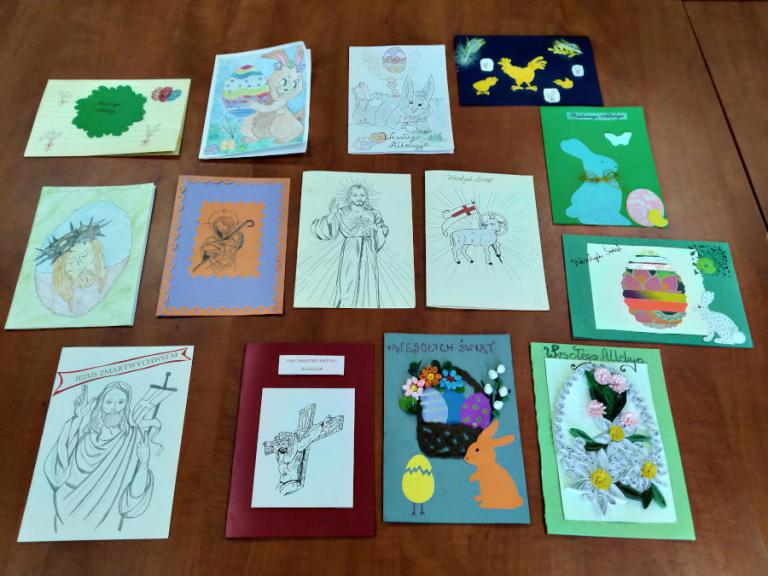 Grajewo: Hufcowy konkurs plastyczny na Kartkę Wielkanocną 2021