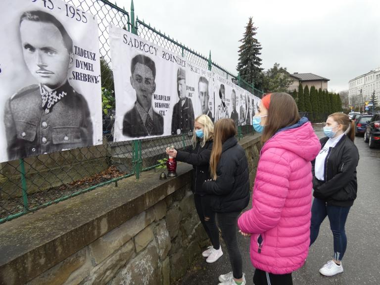 Młodzież OHP pamięta o Żołnierzach Wyklętych