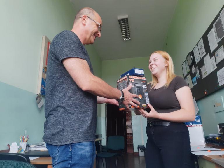 Uczestniczka wałeckiego hufca nagrodzona