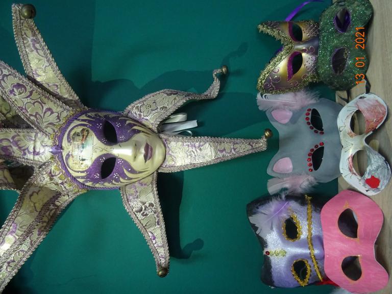 Maski karnawałowe w Sosnowcu