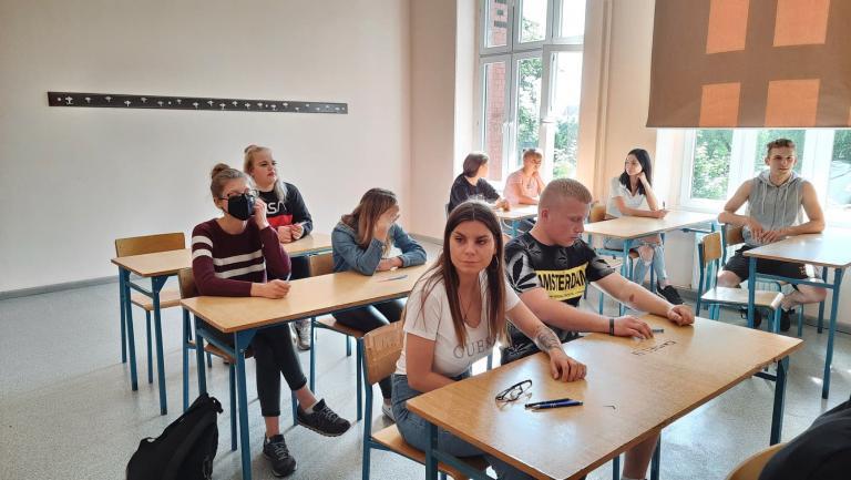 Egzaminy próbne w Wałczu