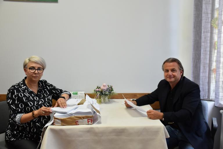 Spotkania Zastępcy WW Komendanta OHP w OSiW w Niechanowie i OSiW w Chraplewie