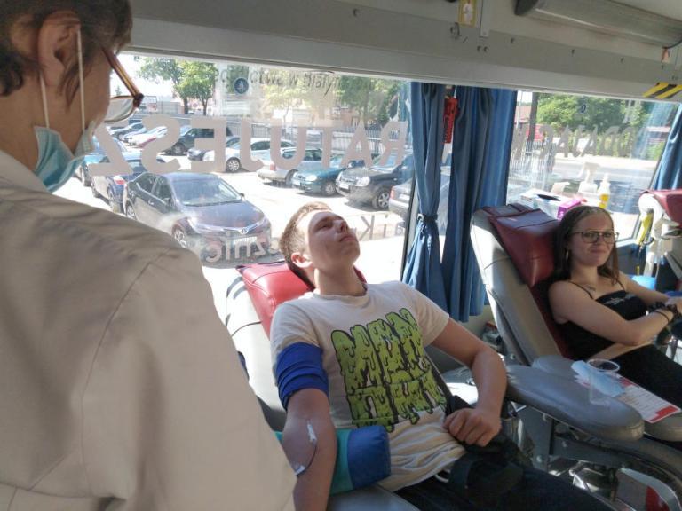 Łomża: Światowy Dzień Krwiodawcy