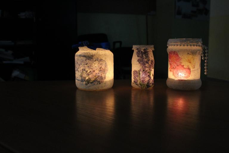 Świecznik dla mamy