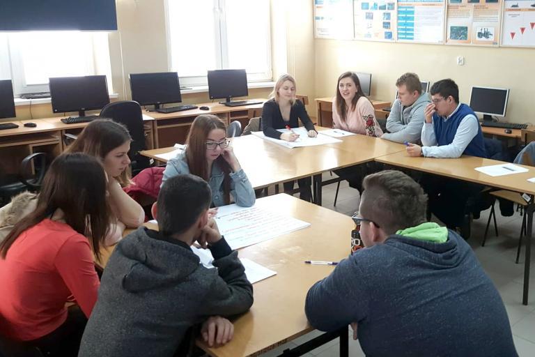 Zajęcia projektowe w Andrychowie