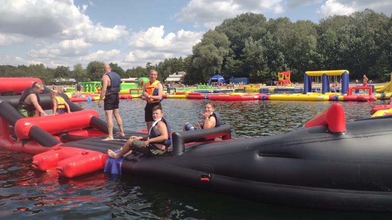 Uczestnicy OSiW w Niechanowie w największym parku wodnym w Polsce