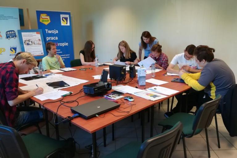 Białystok: Grupowe zajęcia z doradcą zawodowym
