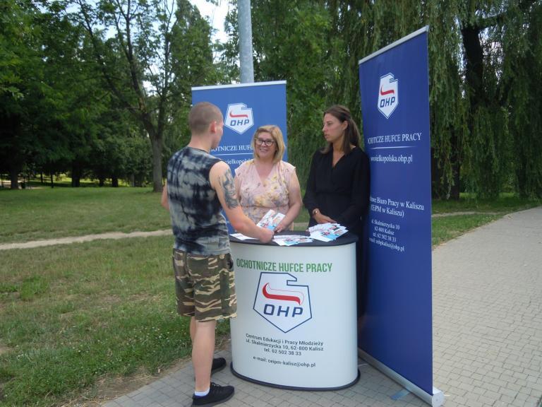 Plenerowa akcja promocyjna w Kaliszu
