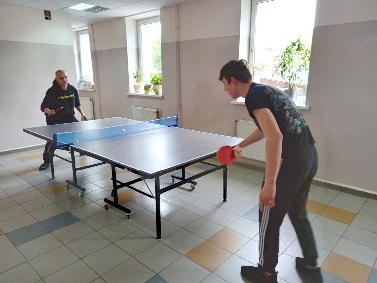 Turniej tenisa stołowego w OSiW Barlinek