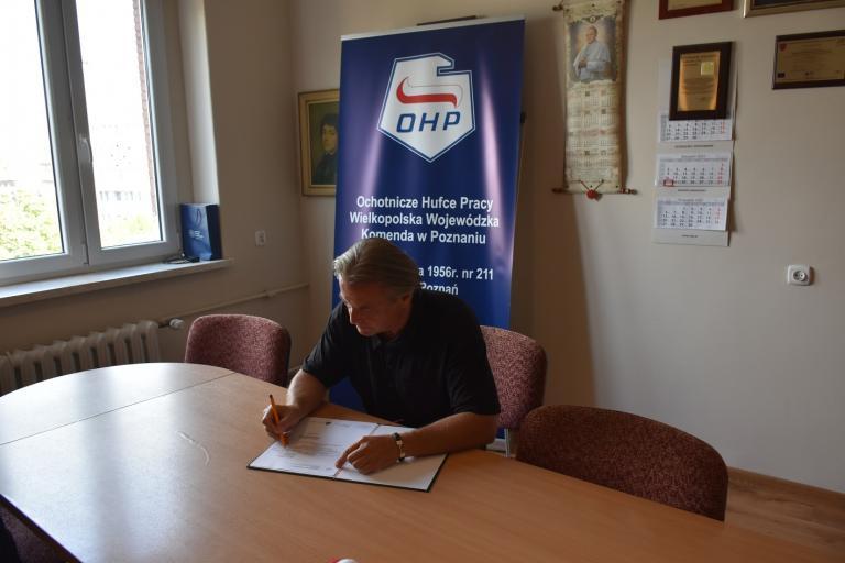 Obchody 41. Rocznicy podpisania Porozumień Sierpniowych w WWK OHP w Poznaniu