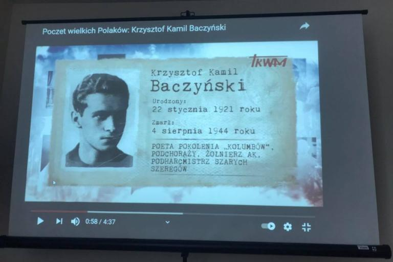 """Kolno: """"Elegia o chłopcu polskim"""" – warsztaty literackie"""