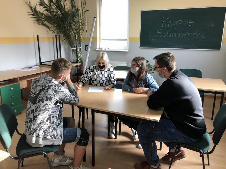 Lider projektu z HP Kościan i Specjalista ds. programów z CEiPM Leszno w konkursie EDUinspirator 2021