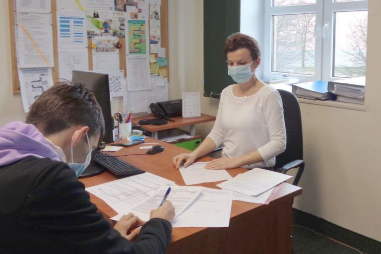 Grajewo: Spotkania uczestników Hufca z pośrednikiem pracy i doradcą zawodowym