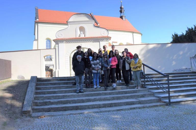Ostrowska młodzież w Ostrzeszowie