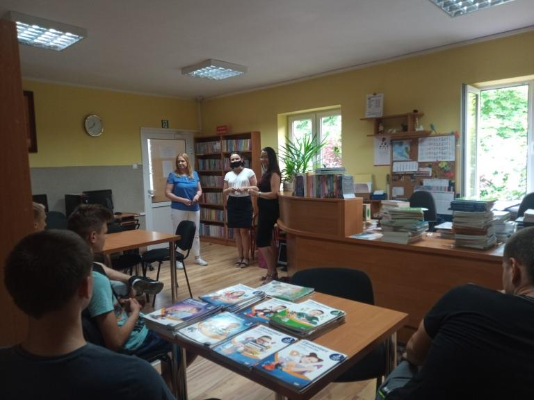 Promocja usług OHP w szkołach powiatu kolskiego