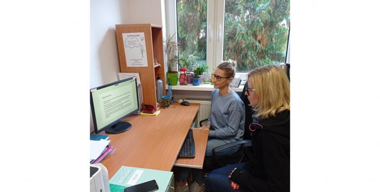 Szkolenie kadry Młodzieżowego Centrum Kariery w Śremie