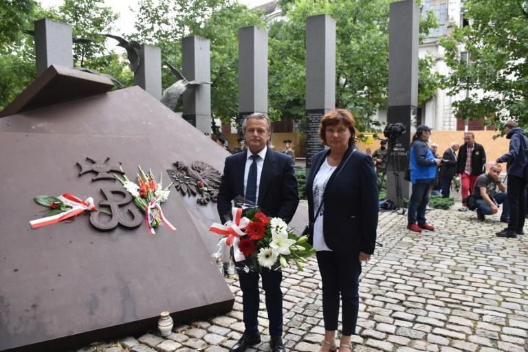 WWK OHP upamiętniła 77. rocznicę wybuchu Powstania Warszawskiego