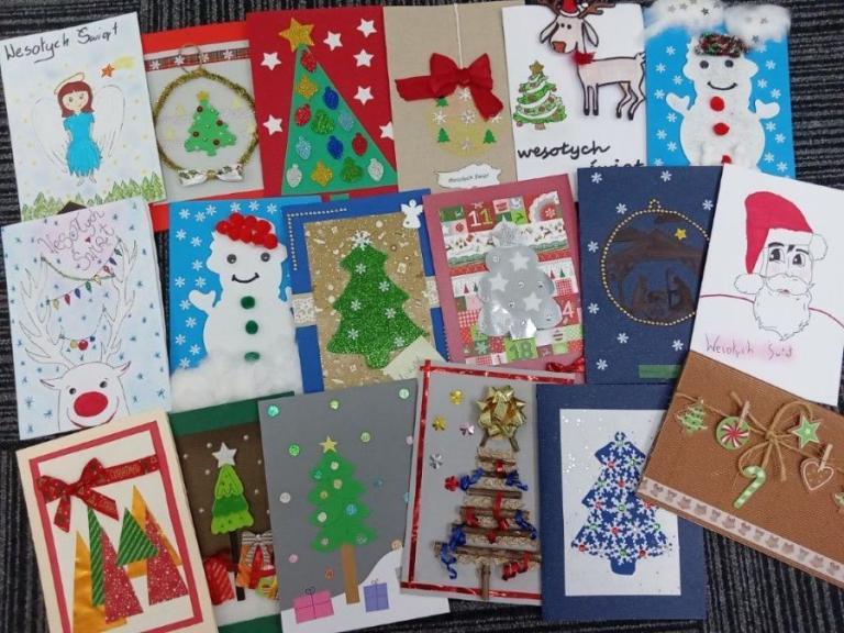 Białystok: Rozstrzygnięcie konkursu plastycznego na Świąteczną Kartkę Bożonarodzeniową