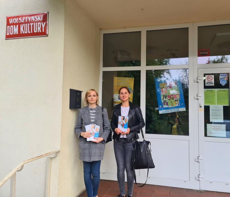 Pracownice MCK Wolsztyn w Wolsztyńskim Domu Kultury