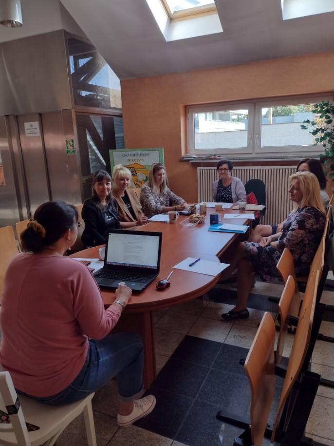 Spotkanie zespołu wsparcia w Rybniku