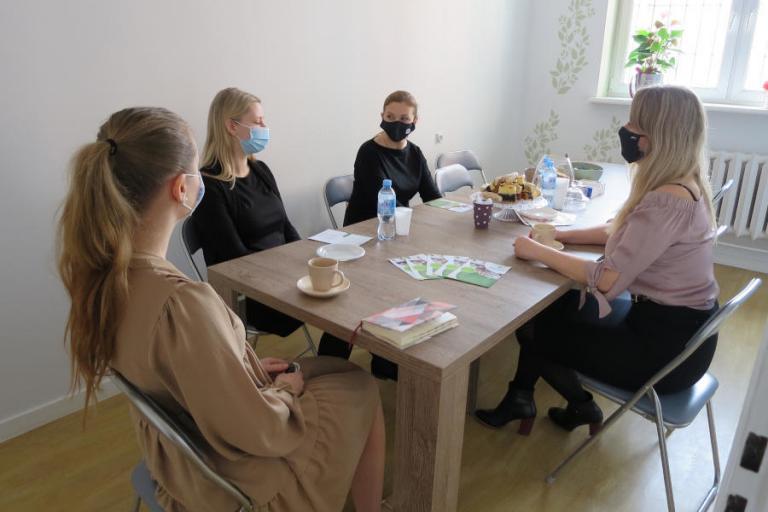 Suwałki: Spotkanie w Psychologiczno - Pedagogicznym Centrum Terapeutycznym SPEKTRUM
