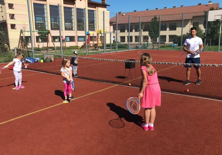 Nauka gry w tenisa ziemnego