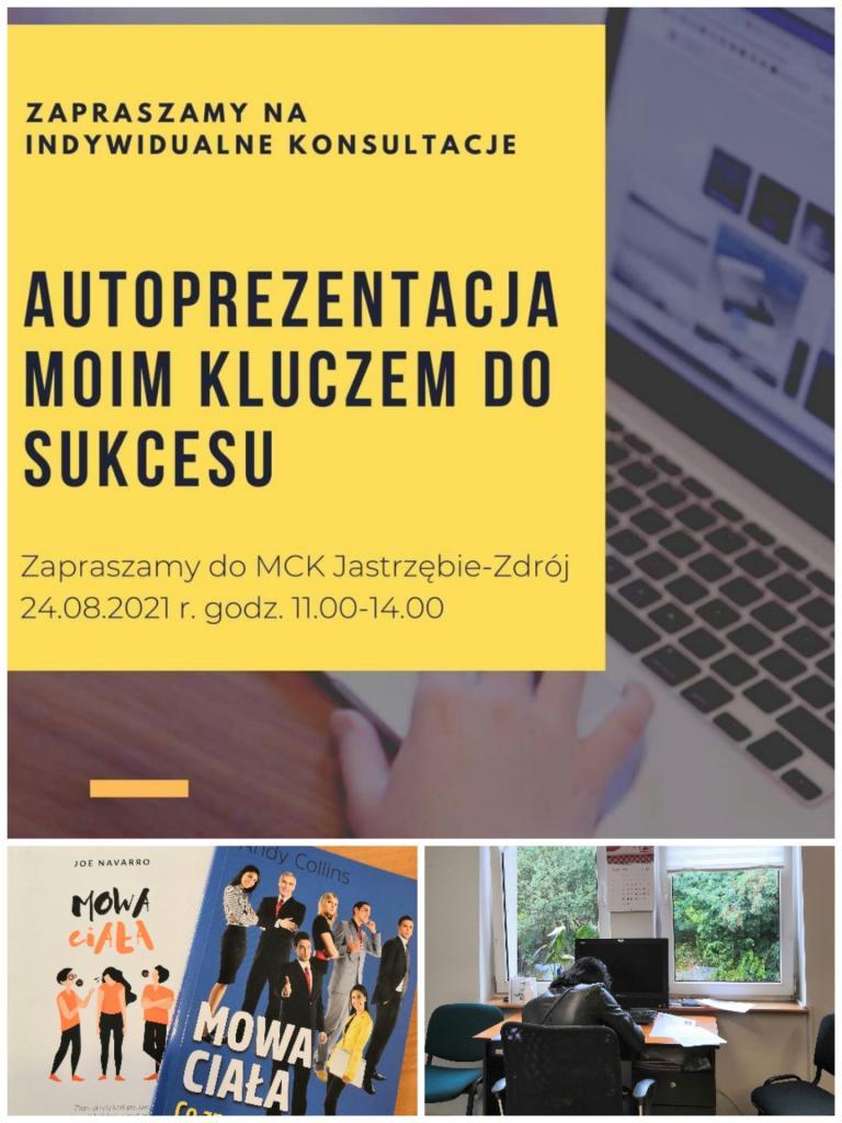 O autoprezentacji w MCK Jastrzębie-Zdrój