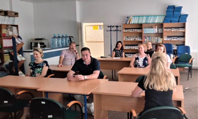 Łomża: Podsumowanie roku szkolnego przez zespół wsparcia uczestników OHP