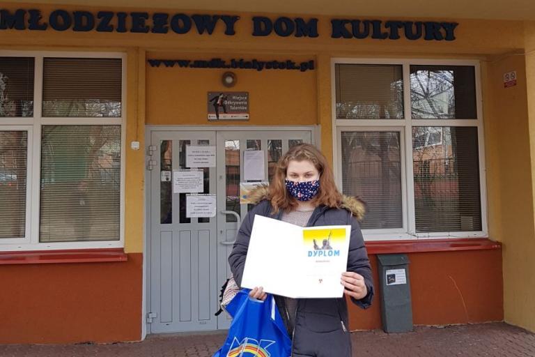 Białystok: Uczestniczka Hufca nagrodzona w konkursie recytatorskim