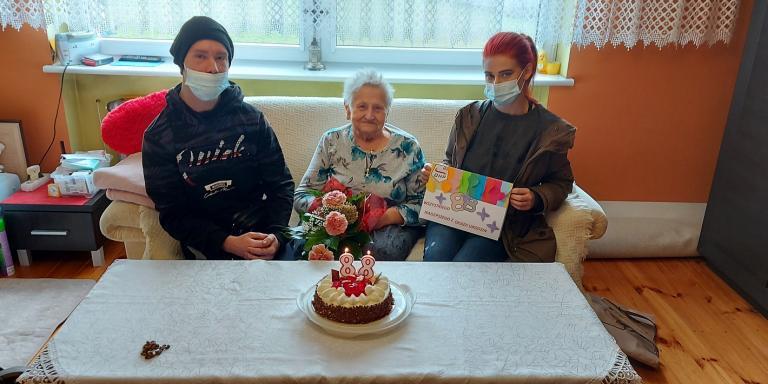 Urodziny seniorki