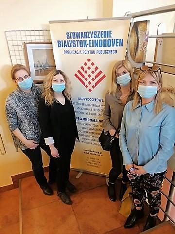 Spotkanie w Stowarzyszeniu Kontakt Miast Białystok – Eindhoven