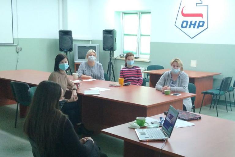 Grajewo: Szkolenie kadry Hufca Pracy i Młodzieżowego Centrum Kariery